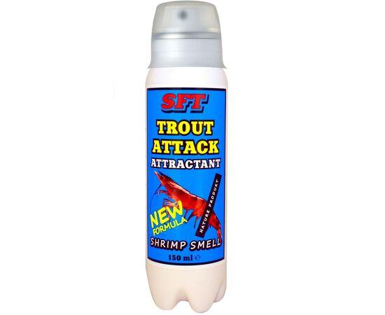 Спрей Аттрактант SFT для форели с запахом креветки