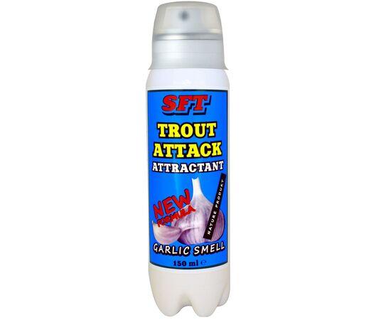 Спрей Аттрактант SFT для форели с запахом чеснока